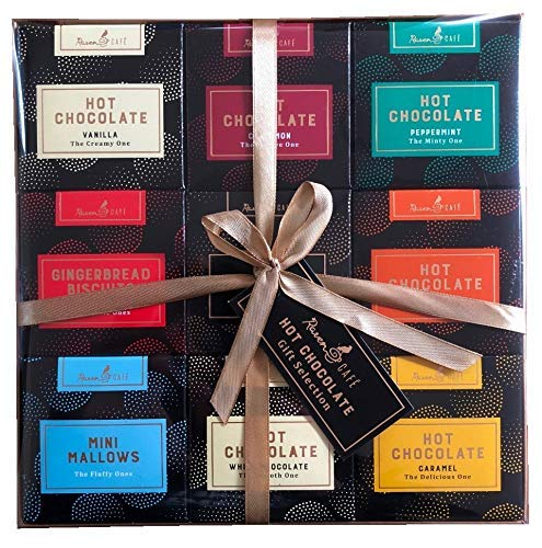 Heiße Schokolade sortierte Geschmack-Geschenk-Auswahl
