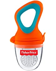 Fisher-Price Ultra Care Silicone Food Nibbler, Orange