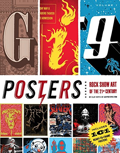 Gig Posters Volume 1: Rock Show Art of the 21st Century - Surreale Kunst Poster