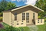 Gartenhaus MÜNCHEN Blockhaus 500x450cm