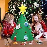 Colore: multicoloreMateriale: feltroDimensioni: Dimensioni finali: W * H: 50 * 60 cm (19,69 * 23,62 pollici)La confezione include: 1 (set) x kit craft fai da te (18 pezzi)Nota:- Hai bisogno di fai da te l'albero di Natale da solo.- Si prega d...