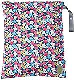 Itzy Ritzy Travel Happens Wet Tasche mit Griff, groß, Blumenstrauß Pop