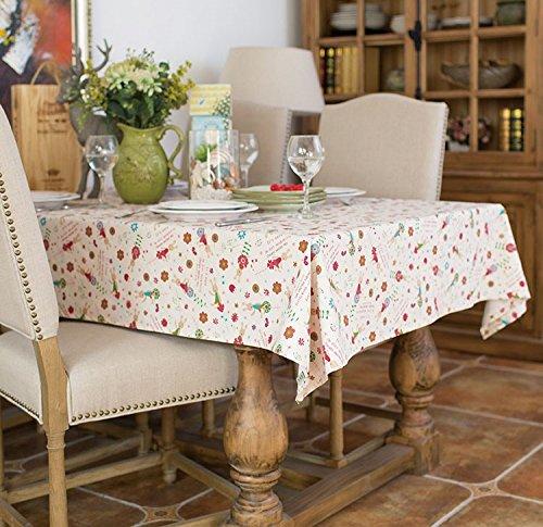 Bettwäsche X Quadratische Tischdecke 90 90 (XMMLL Weihnachtsgeschenk Bettwäsche Rechteck Stoff Tischdecke für Speisen Wasserdicht 90 X 140 Cm)