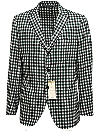 93962 giacca CANTARELLI PURA LANA VERGINE COTONE capo spalla giacche uomo  jacket  50  0de01b4ba03