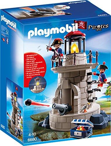 Preisvergleich Produktbild PLAYMOBIL 6680 - Soldatenturm mit Leuchtfeuer
