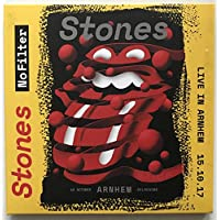 THE ROLLING STONES LIVE IN ARNHEIM 2017 No Filter Tour limited edition 2CD set in cardbox