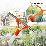 #8: Spray type Cleaning Brush Glass Wiper Window Clean Shave Car Window Cleaner Brush, Random Colour