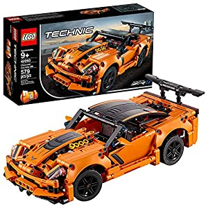 LEGO Technic Chevrolet Corvette ZR1, Collezione Auto da Corsa, Replica di Macchina Hot Rod 2 in 1, 42093 LEGO