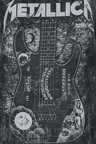 Metallica Ouija Guitar Top donna nero Nero
