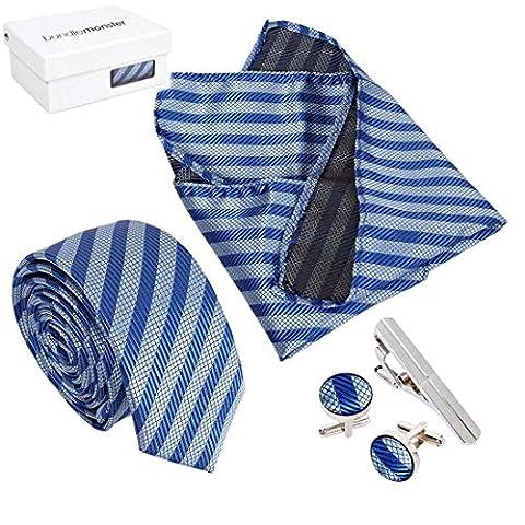 Bundle Monster Tie Cravate Boutons de manchette pour homme avec