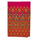 Kitama Thai Sarong Bett-Tuch Überwurf Pink 200cm x 110cm umgenäht