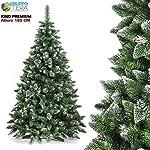 BAKAJI Albero di Natale Folto Pino King Premium