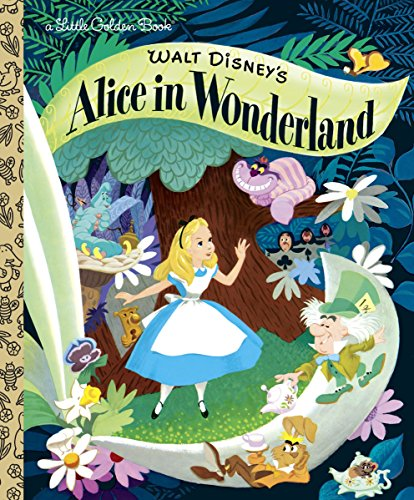 Walt Disney's Alice in Wonderland (Disney Classic) (Little Golden Books) por Random House Disney