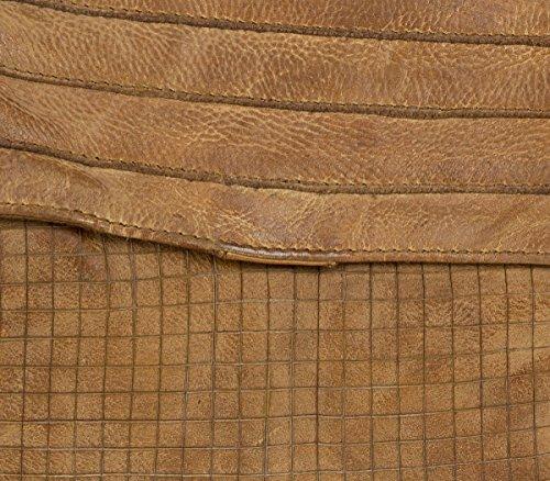 FredsBruder Cut it Vintage Mixology Borsa a tracolla pelle 27 cm Caramel (Braun)