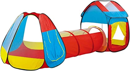 Toys Bhoomi Huge Portable Children's Tunnel Play Kids Tent House - 100% Safe Polyester Fabric