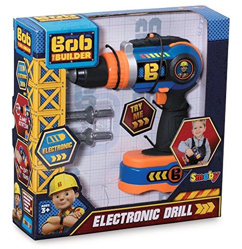 Smoby 360130 - Bob der Baumeister elektronischer Akkuschrauber