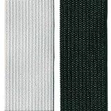 Gummiband Gummilitze elastisches Elastic Band gewebt Gummizug Gummi Hosengummi Hosenband Litze Weiß 1,5 m x 2 cm