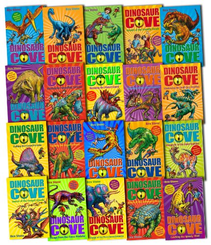 Dinosaur Cove Collection 20 Books Box Gift Set Pack by Rex Stone RRP: 99.80 ...