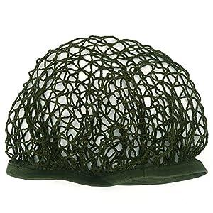 Filet de Casque Couverture Tactique Housse Couvre-casque Camouflage en Nylon pour Casque M1 M35 M88 - Vert de l'Armée
