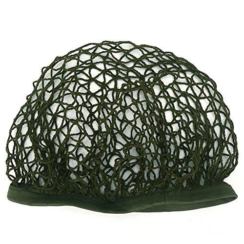 Tarnnetz für Sturzhelm Taktische Netzabdeckung für Helm Armeegrün für M1 M35 M88 Sturzhelm