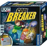 KOSMOS 697921 EXIT Kids - Code Breaker, Löst die Rätsel - knackt das Schloss! spannendes Escape Room Brettspiel für Kinder