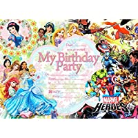 Amazoncouk Disney Princess Invitations Party Supplies Toys