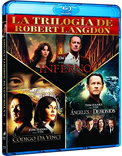 Trilogía El Código Da Vinci + Angeles y Demonios + Inferno -- Trilogy The Da Vinci Code + Angels and Demons + Inferno -- Spanish Release