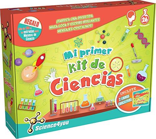 Science4you - Mi Primer Kit de Ciencias Juguete Cientifico desde 4 años