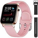 Smartwatch Orologio Intelligente Fitness Activity Tracker, Impermeabile IP68 con cardiofrequenzimetro, nuoto, notifiche,calor