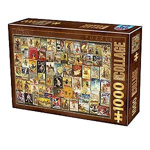 Unbekannt Puzle de 1000 Piezas, diseño de Collage Vintage
