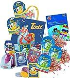 Tinti Planschtüte pflegender Badespaß 9+1 Produkte inkl. Zauber-Ei (Planschtüte)