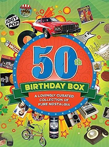 RetroCo 50th Birthday Retro Memorabilia Collection Gift Box - Collage