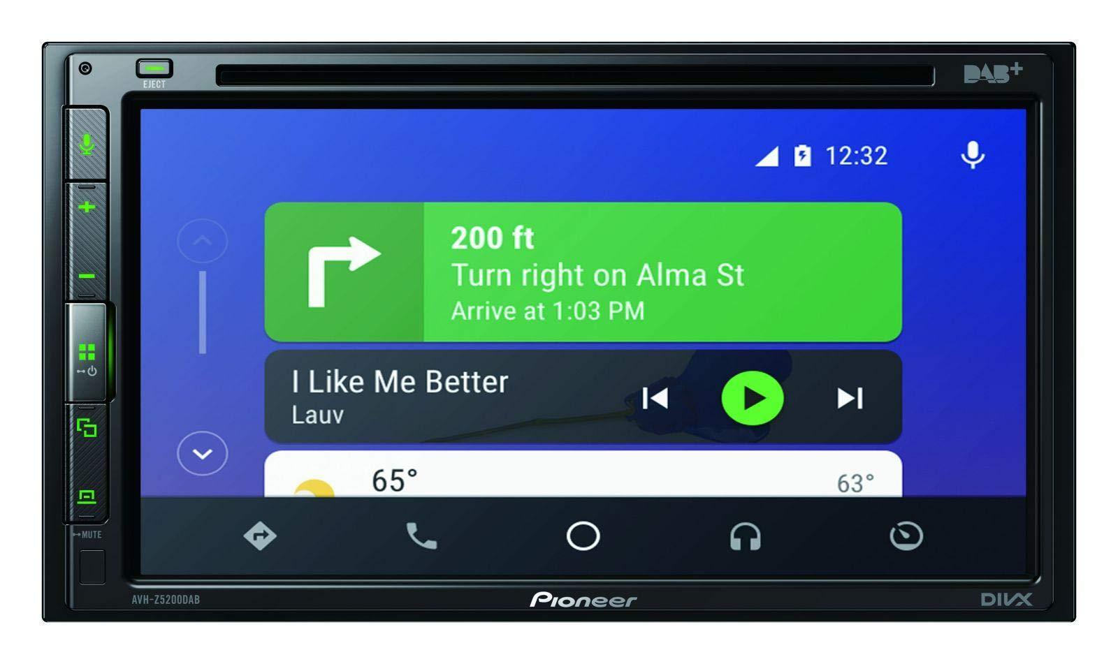 caraudio24-Pioneer-AVH-Z5200DAB-DVD-2DIN-MP3-DAB-Bluetooth-USB-Autoradio-fr-BMW-5er-E60-2003-2007