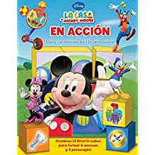 Libros de Cuentos con Diverti-cubos  / On the Move: Disney La Casa De Mickey Mouse / Disney Mickey Mouse Club House