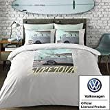 Volkswagen VW–Coast Surfer–Doppel Bettbezug Set–Offizielles VW Lizenzprodukt