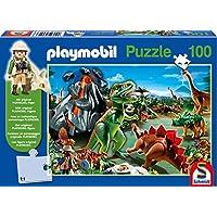 Schmidt Playmobil Dinosaur Children