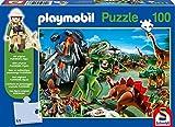 Schmidt Spiele Playmobil: Im Dinoland 100pieza(s) - Rompecabezas...