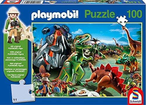 Schmidt Spiele Playmobil: Im Dinoland Puzzle - Rompecabezas