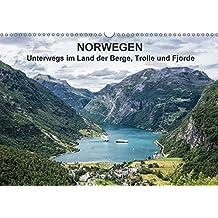 Norwegen - Unterwegs im Land der Berge, Trolle und Fjorde (Wandkalender 2017 DIN A3 quer): Fotos aus Norwegen (Monatskalender, 14 Seiten ) (CALVENDO Natur)