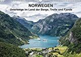 Norwegen - Unterwegs im Land der Berge, Trolle und Fjorde (Wandkalender 2018 DIN A3 quer): Fotos aus Norwegen (Monatskalender, 14 Seiten ) (CALVENDO Natur) [Kalender] [Apr 01, 2017] Ködder, Rico