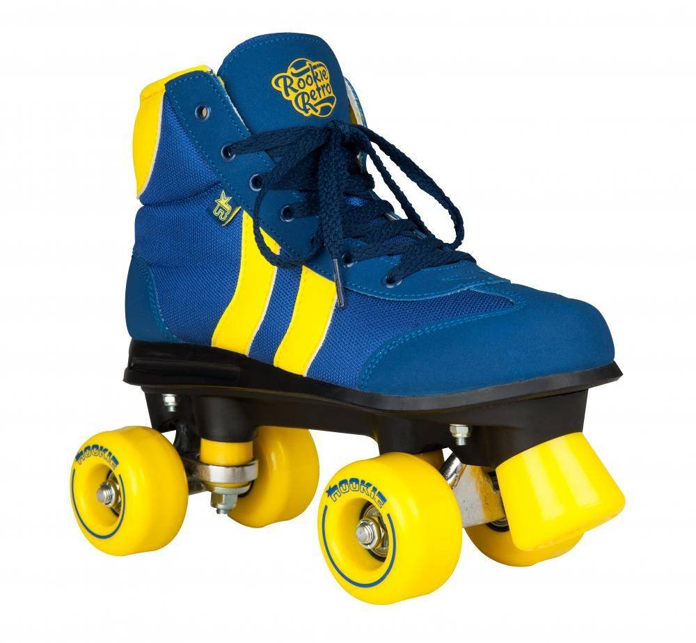 Rookie roller skates amazon - Rookie Retro V2 1 Blue Quad Roller Skates Amazon Co Uk Sports Outdoors