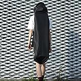 Anna-neek Skateboard Tasche Lange Boardtasche Longboard Tasche Rucksack Backpack Retro Skateboard Komplett Fertig Montiert mit Tasche für Kinder Jugendliche und Erwachsene