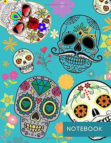 Notebook: Dia de los Muertos (Dia Rituales De Del Halloween)