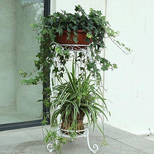 Pflanzenstandplatz Schmiedeeisen-Mehrzweckblumen-Stand passend für Wohnzimmer-Balkon im Freien (größe : 1#)