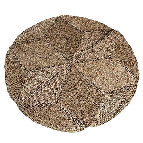Alfombra redonda de esparto, Ø 120 cm