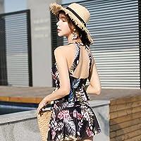 Rassembler l'acier anti-dérapant-split jupe taille haute maillot triangle Resort & Spa