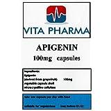 APIGENIN hoge sterkte 100mg 120 Capsules, door vita pharma, Geproduceerd in het Verenigd Koninkrijk