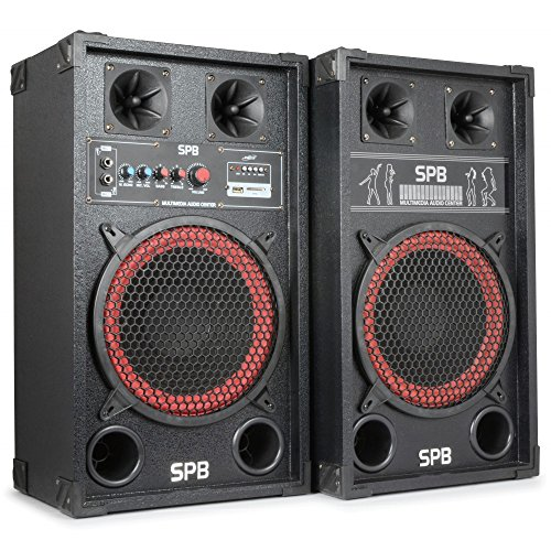 Skytec SPB-10 - Kit bafles karaoke