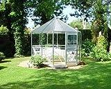 Eden Halls invernaderos Ltd pléyades Eden de aluminio: cristal - 6 mm policarbonato