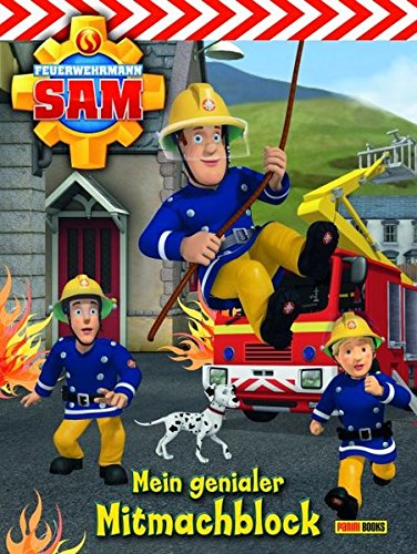 Feuerwehrmann Sam Mal + Mitmachblock thumbnail